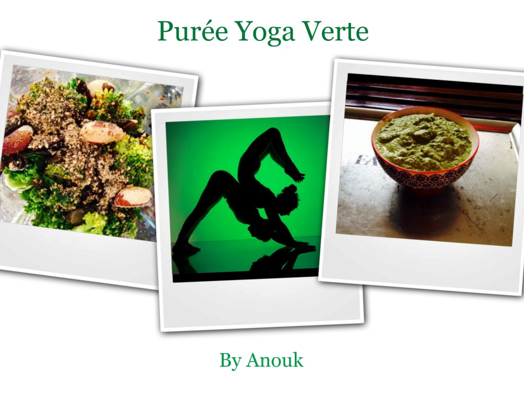 Purée Yoga Verte – Green Yoga Puree