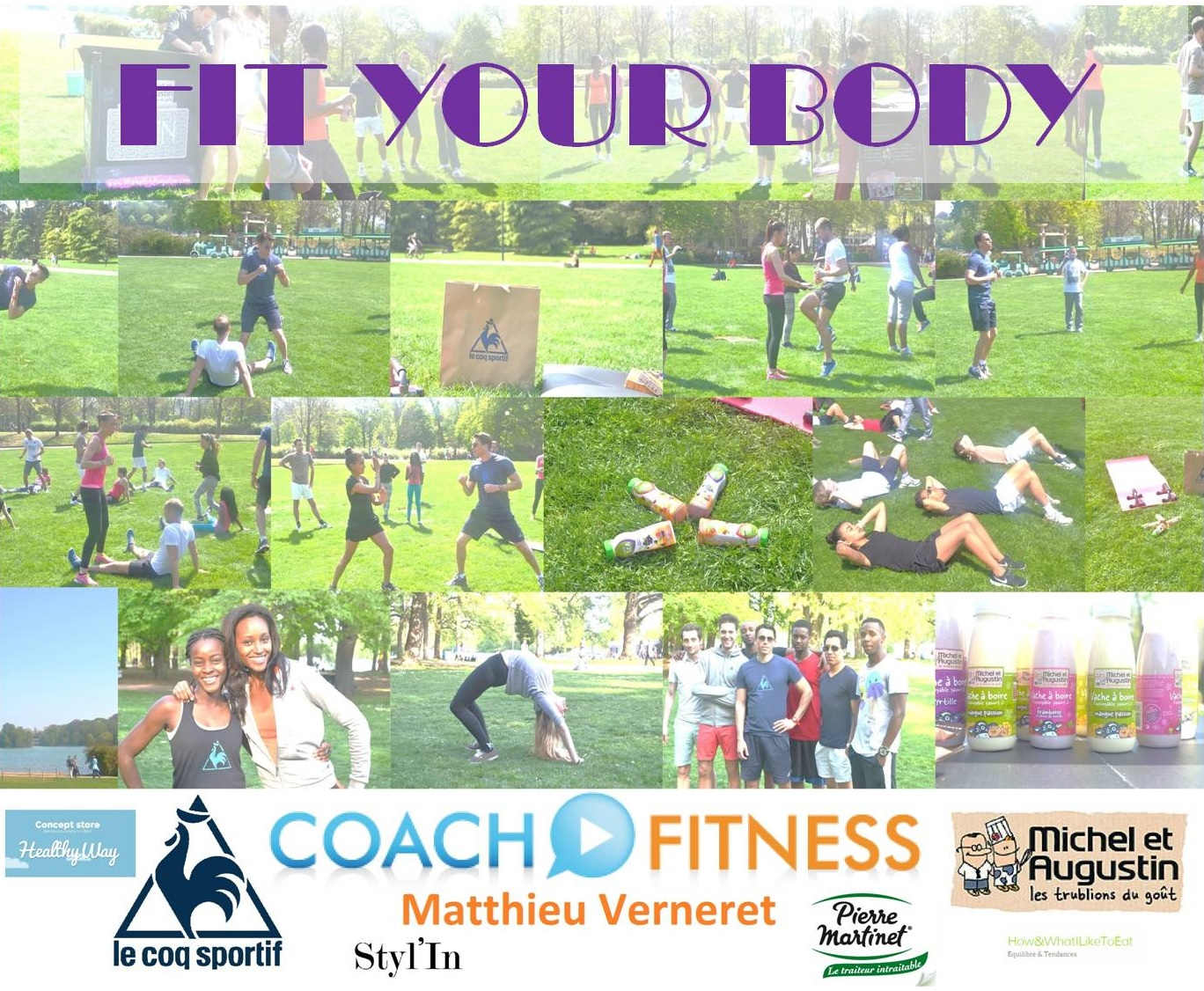 FIT YOUR BODY au Parc de la Tête d'Or – FIT YOUR BODY at Parc de la Tête d'Or